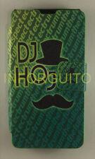FUNDA LIBRO MOVIL DIBUJOS DJ PARA LG OPTIMUS F6 CON CIERRE CON IMÁN