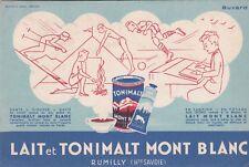 W30 BUVARD Lait et Tonimalt MONT BLANC a RUMILLY (Hte Savoie)