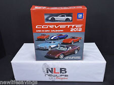 Corvette Car-a-day 2012 Calendar David Newharot & Chris Endres w/1:64 Corvette