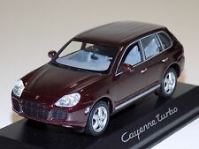 1/43 Minichamps Street Porsche Cayenne Turbo Burgundy 2003-2007 Dealer Edition