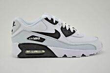 Nike Air Max 90 LTR GS Running Shoes Youth Size 5Y White Black Grey 833412 104