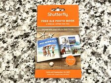 Special Code for 8x8 Shutterfly Photo Book! (shutterfly.com) Expires 09/30/2017