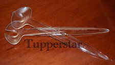 Tupperware Diamant Salatbesteck Transparent