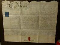 1827 Lease Indenture STOCKTON ON TEES Atkinson Bulmer Frank Surnames #S31