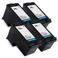 4 Pack HP 74XL Ink Cartridge Officejet J6415 J6424 J6450 J6480 J6488 Printe