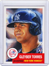 Gleyber Torres Yankees Rookie 2018 Topps 1953 Living Set 34 RC from Week 12