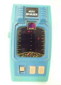 Bandai Electronics Missile Invader Vintage 1980's LED Electronic Game
