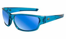 Dirty Dog Chain Adult Sunglasses Crystal Blue Fusion Mirror 58072a *