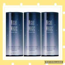 Lot Of 3 Avon Night Magic Shimmering Body Powder Talc 1.4 Oz Each Brand New