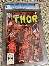 """Thor #326 Nm Cgc 9.8 1982 """"The Scarab Strikes!"""""""