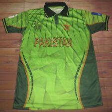 Pakistan Team ICC Cricket World Cup 2015 Zohair Jersey Polo Shirt Large