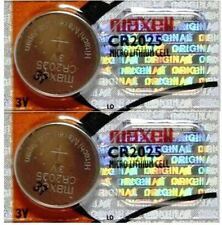 CR 2025 MAXELL LITHIUM BATTERIES (2 piece) 3V watch New Authorized Seller