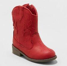 Toddler Girls' Arizona Cowboy Boots - Cat & Jack™ Red
