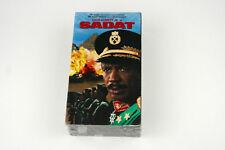 SADAT - 2 VHS Tape Set Louis Gossett Jr John Rhys Richard Miller - New & Sealed