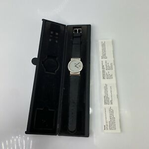 Vintage 1992 Braun Quartz Wristwatch AW50 T 3805 w/ Box Needs Batteries Germany