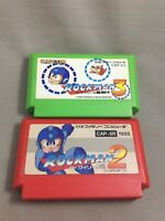s52 Megaman 2 3 Rockman 2 3 NES nintendo Famicom FC Japan