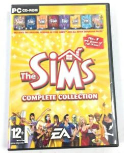 The Sims Complete Collection PC Gaming Original Sims Collection All 8 Games