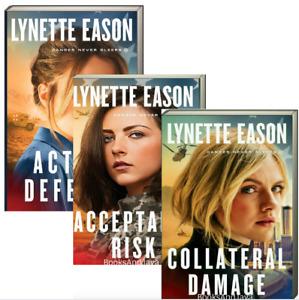 Danger Never Sleeps 1-3 Collateral Damage++ by Lynette Eason(Paperback)