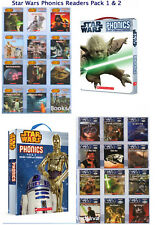 STAR WARS PHONICS READERS Box Set 1 & 2 - 20 Books & 4 Workbooks NEW