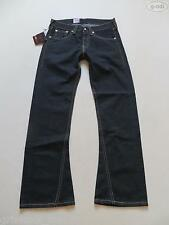 Levi's® 907 Bootcut Jeans Hose W 32 /L 34 Schwarz NEU ! Rockabilly Black Denim !