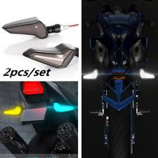 1 Pair 12V Motorcycle Turn Signal Light Super Bright LED Daytime Running Lamp