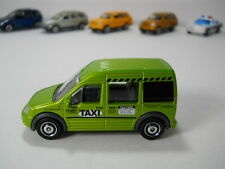 Matchbox 2010 Ford Transit Connect Taxi Cab Green 1/64 Scale JC15