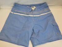 Speedo Mens Blue Swim Board Shorts Mesh lining Size  Large  B36-1260