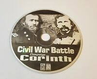 Civil War Battle Campaign Corinth PC CD-Rom windows strategy game free shipping