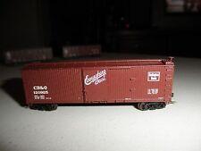 """C.B.& Q """" Burlington Route """" 40' double sheathed boxcar"""