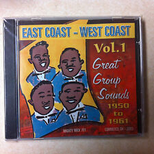 East Coast - West Coast CD - Vol. 1 -  Great Group Sounds 1950-1961 Brand New