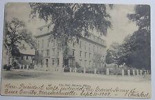 1909 Postcard Of City Hall Beverly Massachusetts To Portland Maine