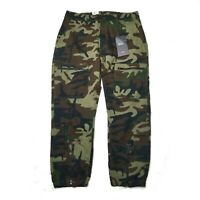 Levis Premium Utility Joggers Tapered Camo Cargo Pants Army Military Tactical