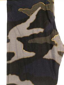 LuLaRoe TC Black Background Camo Leggings NWT