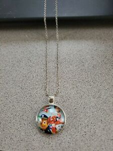 PAW PATROL KIDS UNISEX SILVER PENDANT NECKLACE NEW WITH TAG & ORGANZA BAG