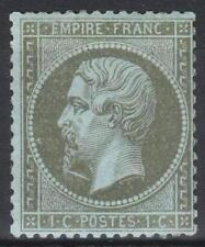 "FRANCE  STAMP TIMBRE 19 "" NAPOLEON III 1c OLIVE VARIETE "" NEUF xx TB A VOIR M281"