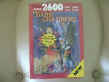 Dark Chambers for Atari 2600 Factory Sealed. read note.