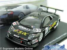 LAMBORGHINI MURCIELAGO R-GT MODEL CAR 1:43 SCALE BLACK IXO 2007 SUPER SPORTS K8