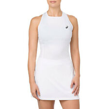 ASICS Women's Racerback Brilliant White Tennis Performance Dress 154421.0014 NEW