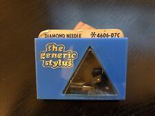 The Generic Stylus Diamond Needle 4606-D7C NOS! D100 D150 Pickering XV-15 Japan