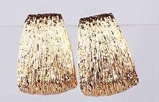 New Fashon Woman Vogue eardrop Yellow Gold Filled Dangle Long 39mm Earrings 920