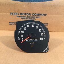73 74 75 76 COURIER NOS OEM FORD D37Z-17255-A SPEEDOMETER ASSY.