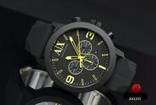 ARMANI EXCHANGE MEN'S LIME CHRONOGRAPH COLLECTION WATCH AX1355