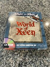 World Of Xeen Vintage Big Box PC Game , Good Condition Box Lots Of Paper Work
