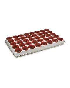 Gardenline Seed & Cutting Tray with 40x 6cm removable pots + watering tray
