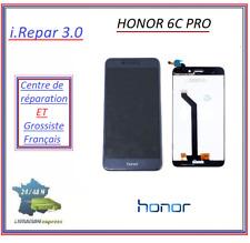 Ecran lcd + vitre tactile Honor 6C Pro blanc/bleu