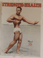 vintage bodybuilding magazine - Strength & Health - 03/1949 - TTBE