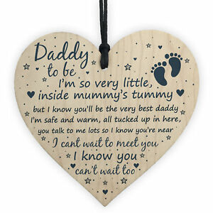 Daddy To Be Gifts Baby Shower Dad Friend Gift Heart Party Decoration From Bump
