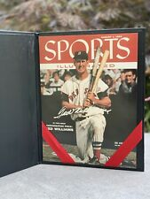 Upper Deck Authenticated Ted Williams Signed Sports Illustrated Cover Autograph