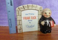 1959 The Original Goebel Hummel Friar Tuck 59 002 10 W.Germany stand plate monk