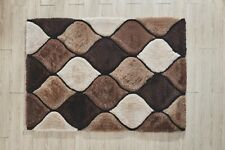 5x7 - AREA RUGS - CARPET - SHAG - EARTH COLORS - MODERN - NEW